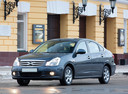 Фото авто Nissan Almera G11, ракурс: 45 цвет: серый