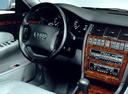 Фото авто Audi A8 D2/4D, ракурс: рулевое колесо