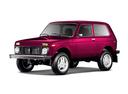 Фото авто ВАЗ (Lada) 4x4 1 поколение [рестайлинг], ракурс: 45 цвет: пурпурный