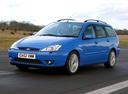 Фото авто Ford Focus 1 поколение [рестайлинг], ракурс: 45 цвет: синий