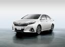 Фото авто Toyota Sai 1 поколение [рестайлинг], ракурс: 45 цвет: белый