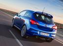 Фото авто Opel Corsa E, ракурс: 135 цвет: синий