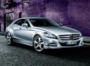 Фото авто Mercedes-Benz CLS-Класс C218/X218, ракурс: 315 цвет: серый