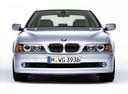 Фото авто BMW 5 серия E39 [рестайлинг],  цвет: серебряный