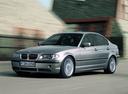 Фото авто BMW 3 серия E46 [рестайлинг], ракурс: 45 цвет: серый