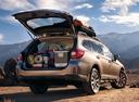 Фото авто Subaru Outback 5 поколение, ракурс: 225 цвет: бежевый