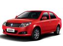 Фото авто Geely MK 1 поколение [рестайлинг], ракурс: 45 цвет: красный