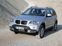Фото авто BMW X5 E70, ракурс: 45 цвет: серебряный