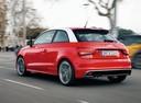 Фото авто Audi A1 8X, ракурс: 135 цвет: красный