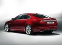 Фото авто Jaguar XF X250 [рестайлинг], ракурс: 135 цвет: красный