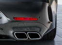 Фото авто Mercedes-Benz AMG GT C190 [рестайлинг], ракурс: задняя часть цвет: черный