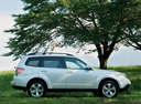 Фото авто Subaru Forester 3 поколение [рестайлинг], ракурс: 270 цвет: белый