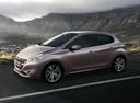 Фото авто Peugeot 208 1 поколение, ракурс: 90 цвет: серый
