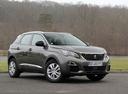 Фото авто Peugeot 3008 2 поколение, ракурс: 315 цвет: серый
