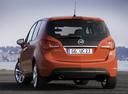 Фото авто Opel Meriva 2 поколение, ракурс: 180 цвет: оранжевый