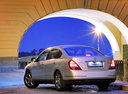 Фото авто Nissan Teana J31, ракурс: 135 цвет: серебряный