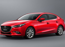 Фото авто Mazda 3 BM [рестайлинг], ракурс: 45 - рендер цвет: красный