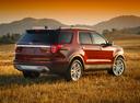Фото авто Ford Explorer 5 поколение [рестайлинг], ракурс: 225 цвет: красный
