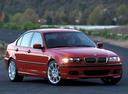 Фото авто BMW 3 серия E46 [рестайлинг], ракурс: 315 цвет: красный