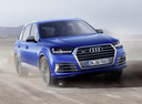 Фото авто Audi SQ7 4M, ракурс: 135 цвет: синий
