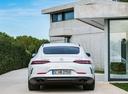 Фото авто Mercedes-Benz AMG GT C190 [рестайлинг], ракурс: 180 цвет: белый