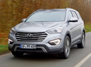 Фото авто Hyundai Santa Fe DM, ракурс: 45 цвет: серебряный