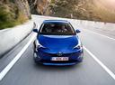 Фото авто Toyota Prius 4 поколение,  цвет: синий