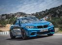 Фото авто BMW M2 F87, ракурс: 315 цвет: голубой