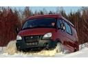 Фото авто ГАЗ Соболь Бизнес [2-й рестайлинг],  цвет: красный
