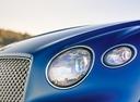 Фото авто Bentley Continental GT 3 поколение, ракурс: передние фары цвет: синий
