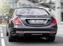 Фото авто Mercedes-Benz S-Класс W222/C217/A217, ракурс: 180 цвет: черный