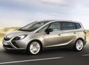 Фото авто Opel Zafira C, ракурс: 90 цвет: серебряный