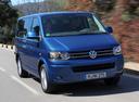 Фото авто Volkswagen Caravelle T5 [рестайлинг], ракурс: 315 цвет: синий