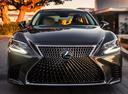 Фото авто Lexus LS 5 поколение,  цвет: мокрый асфальт
