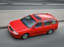 Фото авто Skoda Octavia 1 поколение [рестайлинг], ракурс: 45 цвет: красный