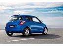 Фото авто Suzuki Swift 4 поколение, ракурс: 225 цвет: синий