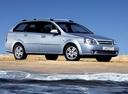 Фото авто Chevrolet Lacetti 1 поколение, ракурс: 315 цвет: голубой