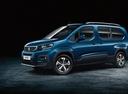 Фото авто Peugeot Rifter 1 поколение, ракурс: 45 цвет: синий