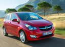 Фото авто Opel Karl 1 поколение, ракурс: 315 цвет: красный
