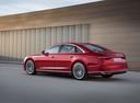 Фото авто Audi A8 D5, ракурс: 135 цвет: красный