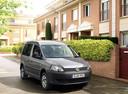 Фото авто Volkswagen Caddy 3 поколение [рестайлинг], ракурс: 315 цвет: серый