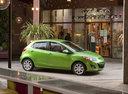 Фото авто Mazda 2 DE [рестайлинг], ракурс: 270 цвет: зеленый