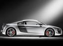 Фото авто Audi R8 1 поколение, ракурс: 225 цвет: серебряный