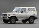 Фото авто Toyota Land Cruiser J70 [2-й рестайлинг], ракурс: 45