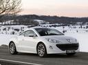 Фото авто Peugeot RCZ 1 поколение, ракурс: 315 цвет: белый
