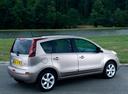 Фото авто Nissan Note E11 [рестайлинг], ракурс: 270 цвет: серебряный