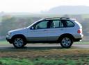 Фото авто BMW X5 E53, ракурс: 90 цвет: серебряный
