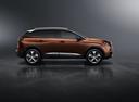 Фото авто Peugeot 3008 2 поколение, ракурс: 270 - рендер цвет: бронзовый