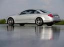 Фото авто Mercedes-Benz CL-Класс C216 [рестайлинг], ракурс: 90 цвет: серебряный