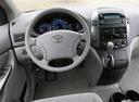 Фото авто Toyota Sienna 2 поколение [рестайлинг], ракурс: рулевое колесо